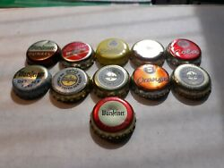11 Warsteiner Beer Bottle Caps All Different Some Very Old