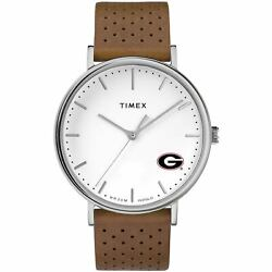 Georgia Bulldogs Timex Bright Whites Tribute Collection Watch