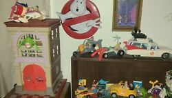 Vintage Ghostbusters Firehouseall Original Kenner Ghostbusters Action Figures