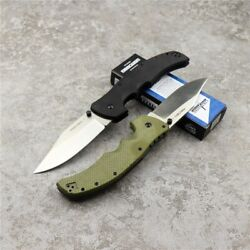 Cold Steel Mini Recon 1 Folding G10 Handle Knife Steel Blade Tactical