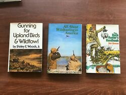 Vintage Duck / Wildfowl Hunting Classics From 70s Set Of 3 Hc Winchester Press