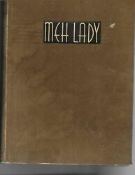 1935 Mississippi State College for Women Yearbook Columbus Mississippi MEH Lady