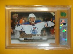 15-16 Ud Young Guns Rookie Sp Canvas Connor Mcdavid Pristine 10 Oilers