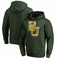 Baylor Bears Fanatics Branded Big And Tall Classic Primary Pullover Hoodie - Green