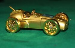 Rare Brass With All Gold Plated Racing Car Lighter