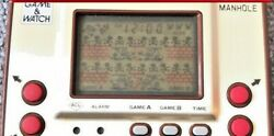 Nintendo Game And Watch Manhole 1981 Gold Series Mh-06 Console Only