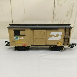 Gold Rush Express Train New Bright Replacement 186 Freight Car G Scale 1996