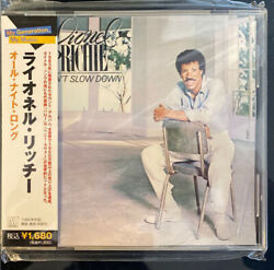 Lionel Richie - Can't Slow Down Cd Japan W/obi Uicy-60180