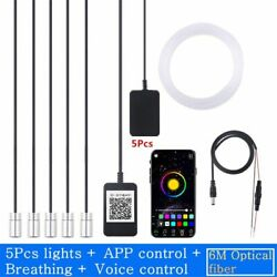 5 In 1 Wireless No Threading Thread-free Ambient Light Car Atmosphere Lamp App