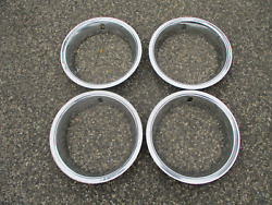 1978 To 1987 Oldsmobile Cutlass 14 Inch Beauty Rings Trim Rings Oem Scratched