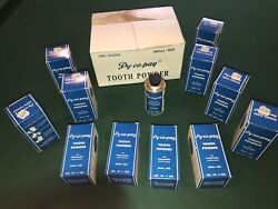 11 Nos Nip Vintage Py-co-pay Tooth Powder Tin 3 Oz Containers Orig Boxes