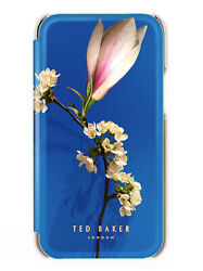 Ted Baker Genuine Bryony Mirror Folio Floral Case For Iphone 11 Harmony Mineral