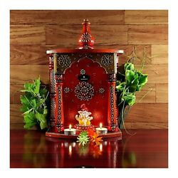 Decorative Handmade Wooden Temple For Home Wall Hanging Temple Use