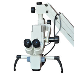 3 Step Celling Mount Surgical Dental Microscope With Free Shipping - White