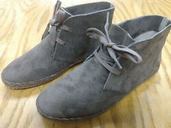 Womans Aetrex Brown Suede Boots Soze 5 Cf402w