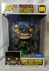 Funko Pop Marvel Zombies Black Panther 699 10 Inch Exclusive