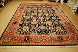 Great Authentic American Karastan Kurdish Pattern 559 Rug 8and0392 X 11and0397 Perfect