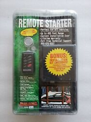 Bulldog Security Remote Vechicle Starter System Keyless Entry RS112 Brand New
