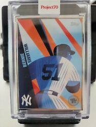 Bernie Williams By Toy Tokyo - Artist Proof 49/51 Topps Project 70 Card 97 Ssp