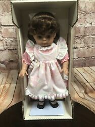 """Lissi Puppen Doll Super Soft 1991 Mary Margaret 20"""" Baby Little Girl Germany"""