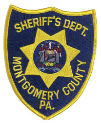 Vintage Patch Montgomery County Police Pa