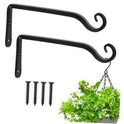 Wall Hook Hanging Plant Bracket 10 Inch,decorative Metal Wall 10 Inch 2 Pack