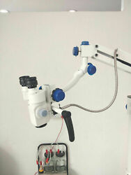 Portable Table Mount Ent Microscope 3 Step 90 Degree Table Mounted Free Fast Shp