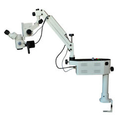 Mars Dental Surgical Microscope For Oral Surgery W/ Portable Table Mount Stand