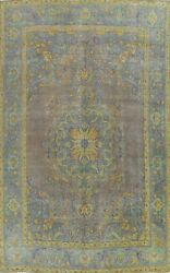 Antique Tebriz Geometric Traditional Large Area Rug Hand-knotted Oriental 10x12