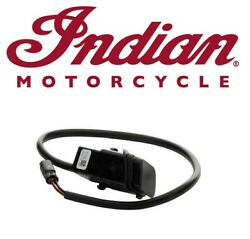 Genuine Indian Motorcycles Scout Sixty 60 Usb Charging Port Retrofit Harness 19+