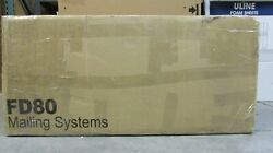 Pitney Bowes Secap Officeright Df800 Folding Machine Mailing System