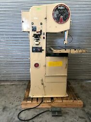 """Doall 1612-h 16"""" Vertical Band Saw Hydraulic Feed Table Gmt-2481"""