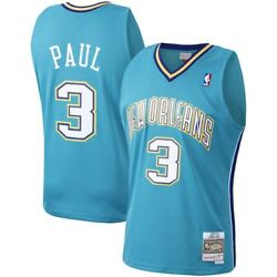 New Orleans Hornets Chris Paul 3 Mitchell And Ness 2005-06 Nba Hardwood Jersey
