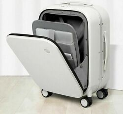 Aluminum Frame Cabin Luggage Carry On Rolling Suitcase Boarding Case Organizer