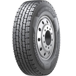 4 New Hankook Dl12 11r22.5 Load H 16 Ply Drive Commercial Tires