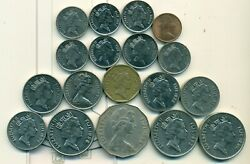 18 Different Coins From Fiji 9 Different Types And 5 Different Denominations