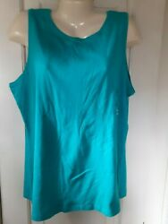 Northcrest Woman's Tank Top Size 2x  New With Tags