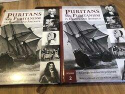 Puritans And Puritanism In North America Vol 1 And 2 Bremer Webster