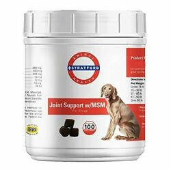 Stratford Pharmaceuticals Max Strength Joint Support W/glucosamine Chondroitin M