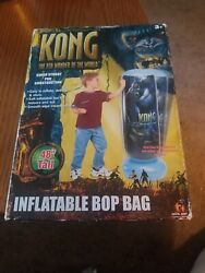 King Kong The 8th Wonder Of The World Inflatable Bop Bag 48 Vtg. Unused Boxed