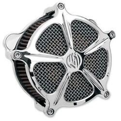 Roland Sands Design Venturi Air Cleaners For V-twin Chrome Speed 5 0206-2000-ch