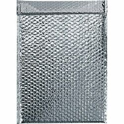 Boxes Fast Bfinm1115 Cool Shield Insulated Bubble Mailers 11 X 15 Silver Pa...