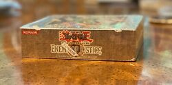 Factory Sealed Yugioh 1st Edition Enemy Of Justice Booster Box | Rare