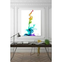 Mark Lawrence And039never Thirst. John 414and039 Giclee Stretched Small