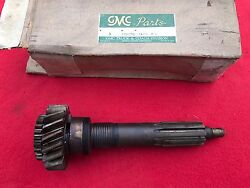 Nos 1957 1958 1959 Gmc Transmission Input Shaft 2358745 541gd N.o.s. Chevy 57 58