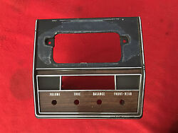 Nos 68 Impala Caprice 8 Track Multiplex Stereo Cover 327 396 427 4 Speed Ss 1968