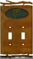 Rustic Trout Switch Plates Wall Plates And Outlet Covers