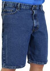 Big And Tall Menand039s Sizes 42 - 72 Denim Shorts 5-pocket By Rocxl