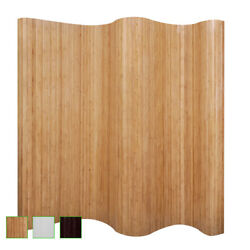 Folding Room Dividers Bamboo Privacy Screen Home Office School Decor Dividers