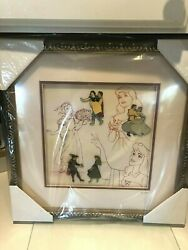 Disney Pin Princes And Princesses Framed Snow White Cinderella Signed Le 2400 St